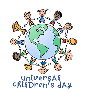 universal children day Universal children's day is celebrated worldwide on the 20th of november every year this date was decided by the general assembly of united nations.