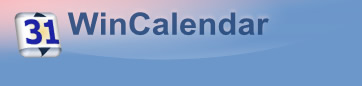 WinCalendar Logo