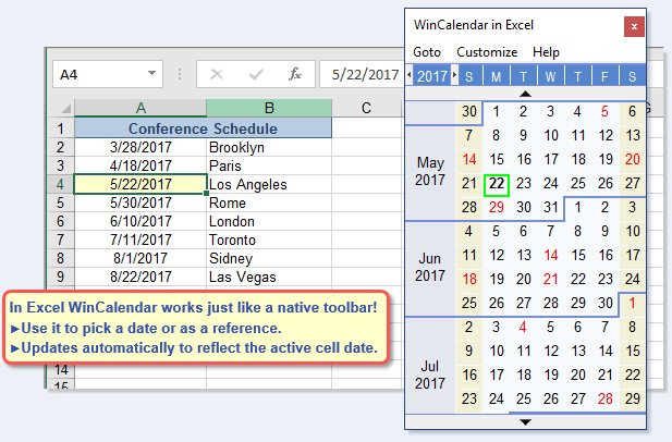 Ediblewildsus  Outstanding Free Excel Pop Up Calendar And Excel Date Picker With Fascinating Calendar In Excel With Archaic Excel Axis Title Also Excel Protect Worksheet In Addition Microsoft Excel Strikethrough And Simple Interest Formula Excel As Well As Excel Hierarchy Additionally Add Bullet In Excel From Wincalendarcom With Ediblewildsus  Fascinating Free Excel Pop Up Calendar And Excel Date Picker With Archaic Calendar In Excel And Outstanding Excel Axis Title Also Excel Protect Worksheet In Addition Microsoft Excel Strikethrough From Wincalendarcom
