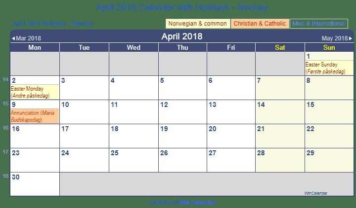 Calendar Norway : Print friendly april norway calendar for printing
