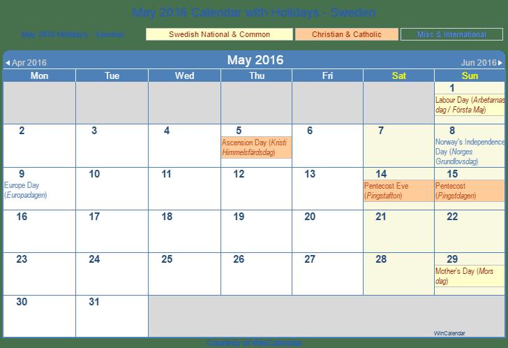 Calendar May Png : Calendar with holidays bing