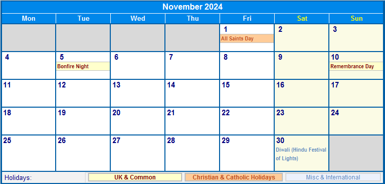 Simple 2020 Year Calendar Week Starts Stock Vector 591194873 ...