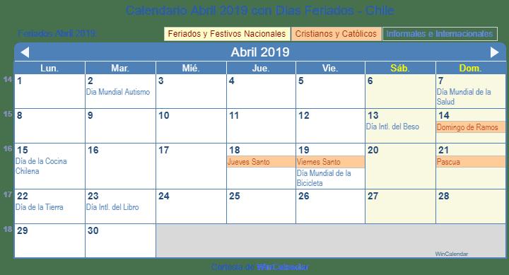 Www Calendario 2019