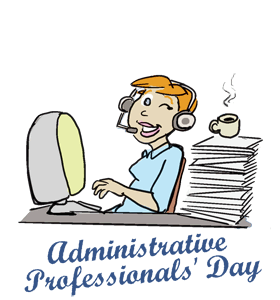 administrative professionals day calendar history tweets facts