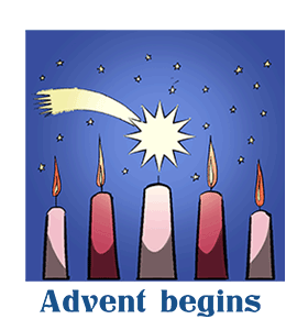 advent begins calendar history facts when is date things to do