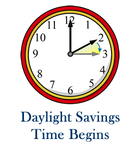 Daylight Savings Starts