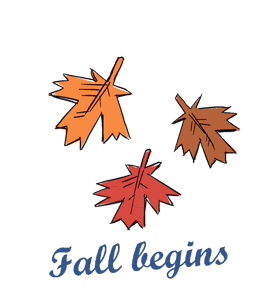Beginning of Fall (Autumnal Equinox)