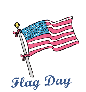 flag day calendar history events quotes when is fun facts rh wincalendar com flag day clip art free download flag day clip art