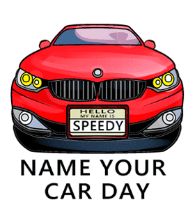 Name Your Car Day