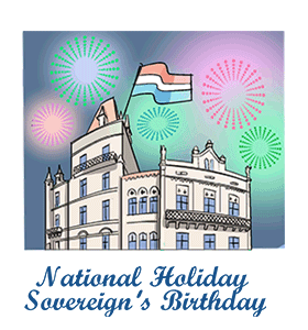 Luxembourg National Holiday