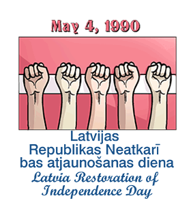 Latvia Restoration of Independence Day